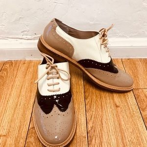Halogen Lina Patent Leather Oxford